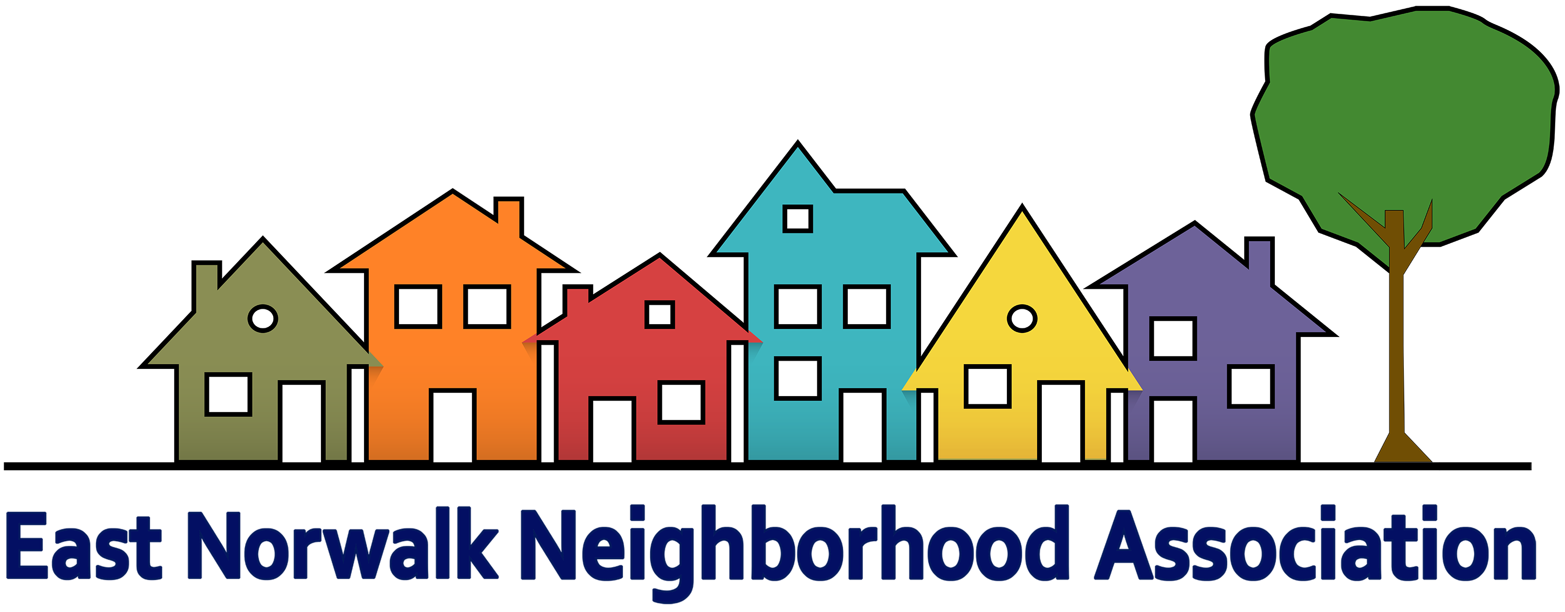 Logo for East Norwalk Neighborhood Association